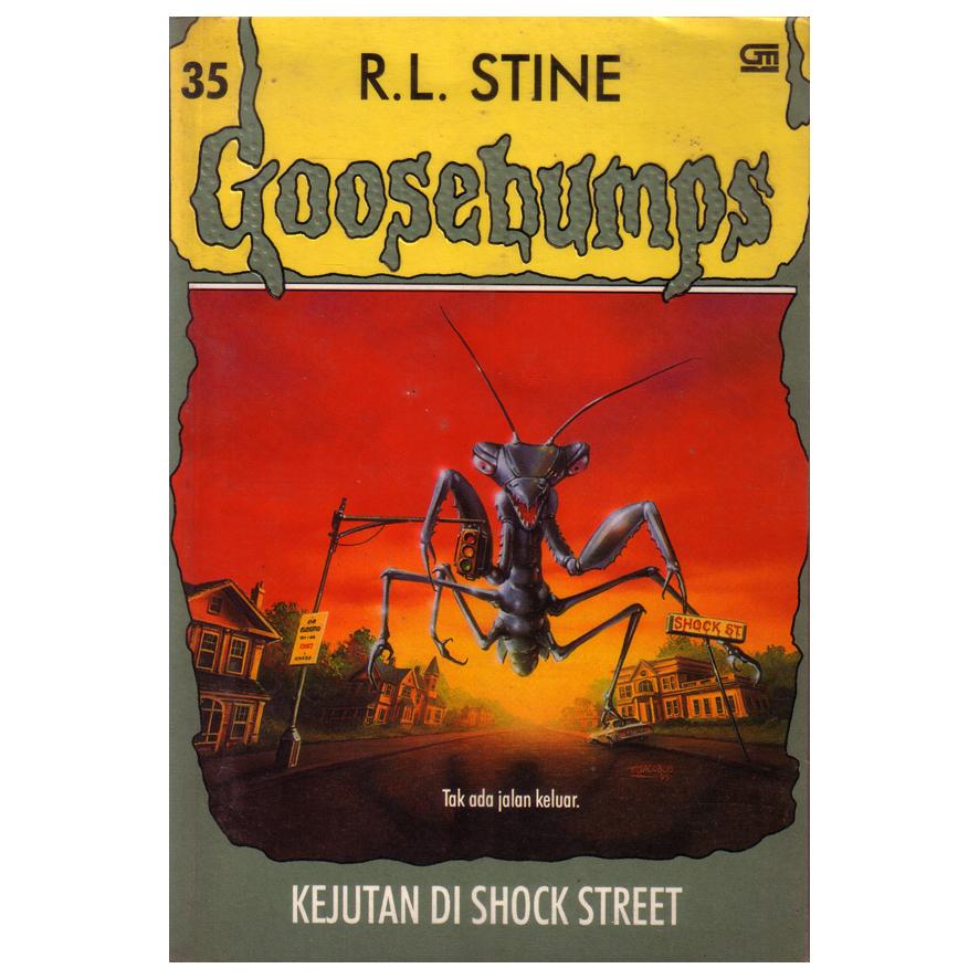 harga Kejutan di Shock Street - Serial Goosebumps 35 Tokopedia.com