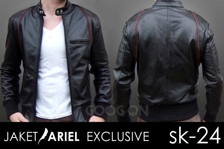harga Jaket Style Leather Ariel Tokopedia.com