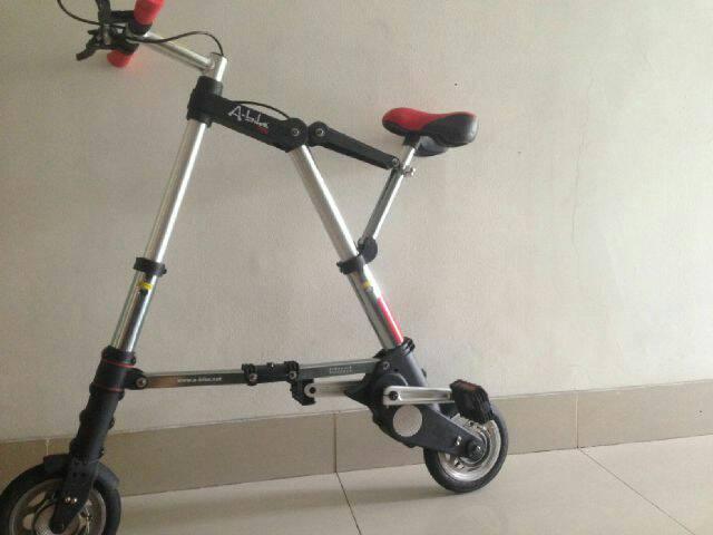 harga sepeda lipat a bike (bukan sepeda listrik) Tokopedia.com