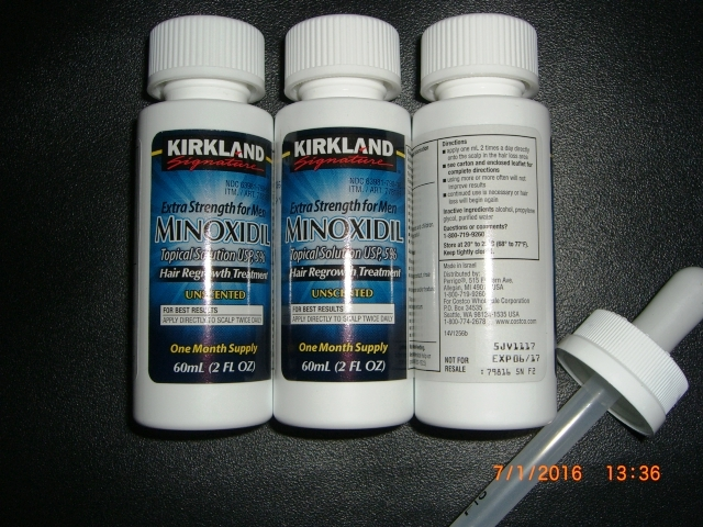 how to use kirkland minoxidil 5