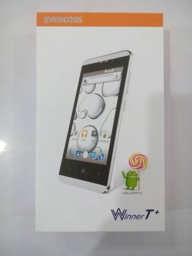 "harga Evercoss A74E Winner T+  - 1GB RAM, 8GB ROM, Quad Core 1.3 GHz, 4"" LCD Tokopedia.com"