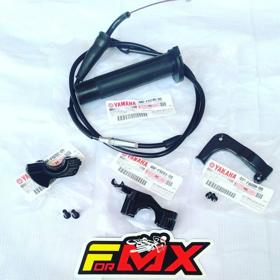 Harga Gas Spontan YZ untuk KLX/Dtracker
