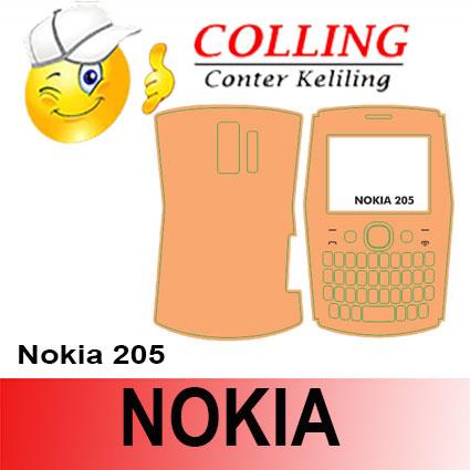 harga Stiker / Garskin Handphone / all type / Nokia / Nokia 205 Tokopedia.com