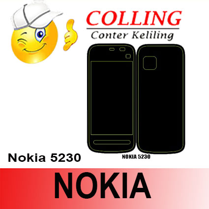 harga Stiker / Garskin Handphone / all type / Nokia / Nokia 5230 Tokopedia.com