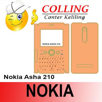 harga Stiker / Garskin Handphone / all type / Nokia / Nokia Asha 210 Tokopedia.com