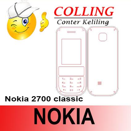 harga Stiker / Garskin Handphone / all type / Nokia / Nokia 2700 classic Tokopedia.com