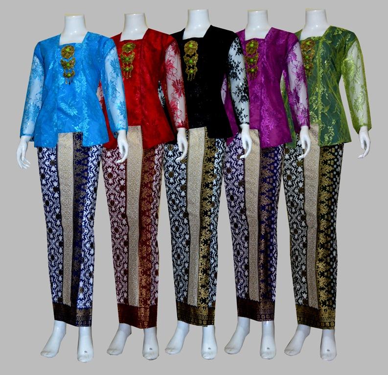 harga D1735 Setelan Rok dan Blouse Batik Panjang Wanita Tokopedia.com
