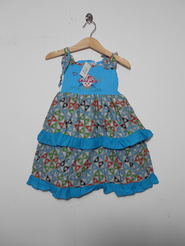 harga dres batik anak alusan / sek dress cewe /gaun gondil warna lucu boneka Tokopedia.com