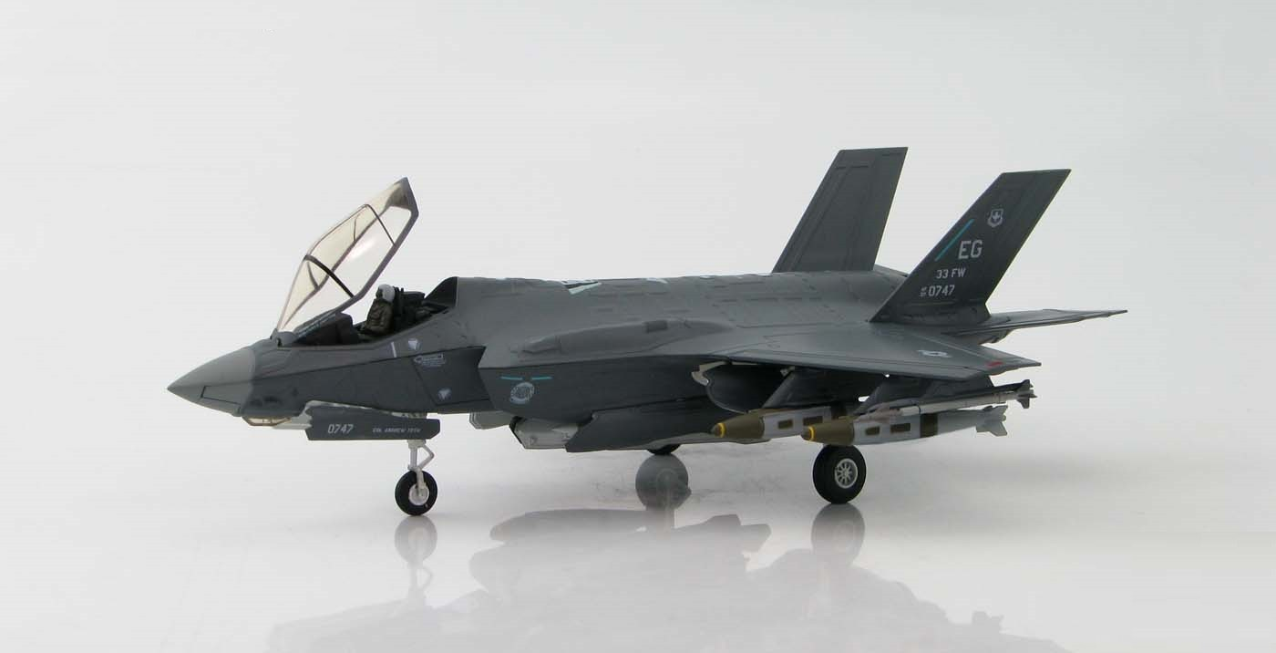 harga Hobby Master 1/72 Diecast  F-35A Lightning II, Eglin HA4407 Tokopedia.com