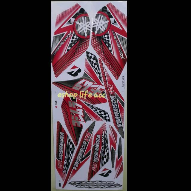 harga sticker full body decal new vixion yoshimira stiker nvl yamaha Tokopedia.com