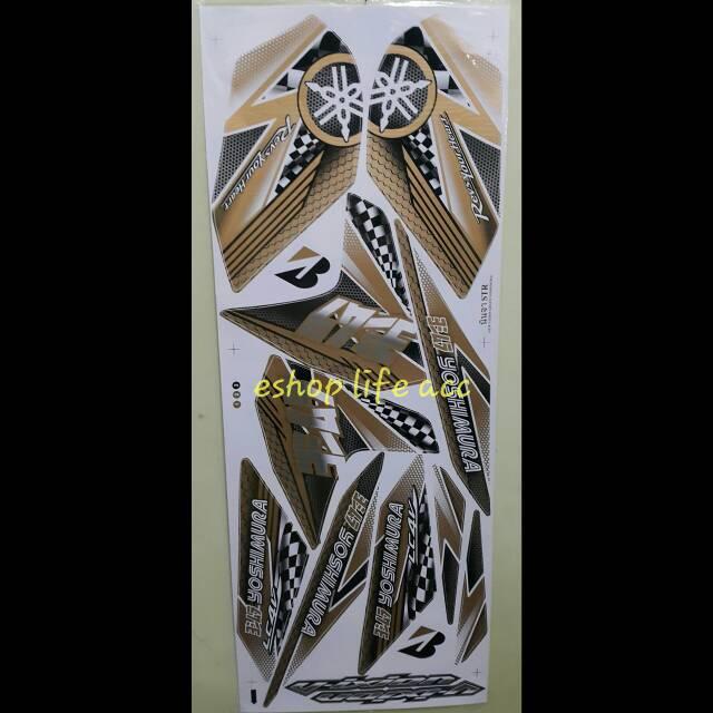harga sticker full body decal New Vixion Yosimura yoshimura Striping Stike Tokopedia.com