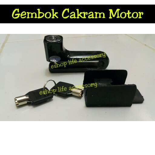 harga Kunci gembok pengaman anti maling motor sepedah sport matic moped Tokopedia.com
