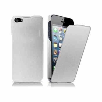 harga Flip Vertical Leather Case for iPhone 5, 5S Tokopedia.com