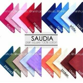hijab segi 4 saudi