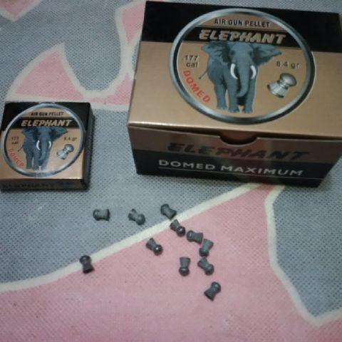 harga MIMIS ELEPHANT DOMED CAL 4,5mm peluru pelor senapan angin Tokopedia.com