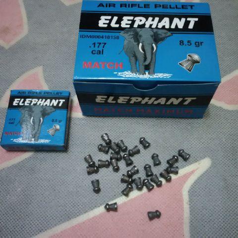 harga MIMIS ELEPHANT MATCH MAXXIMUM CAL 4,5mm peluru pelor senapan angin Tokopedia.com