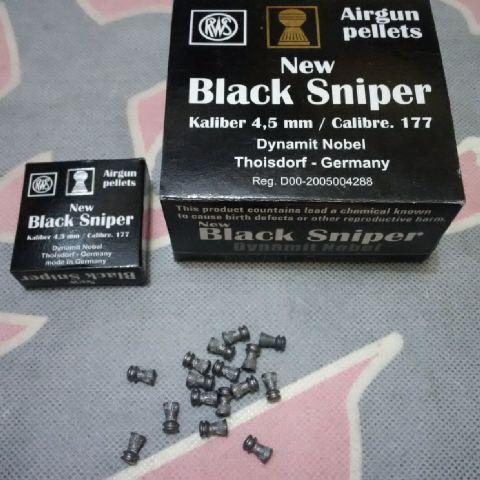 harga MIMIS NEW BLACK SNIPER GERMANY CAL 4,5mm peluru pelor senapan angin Tokopedia.com