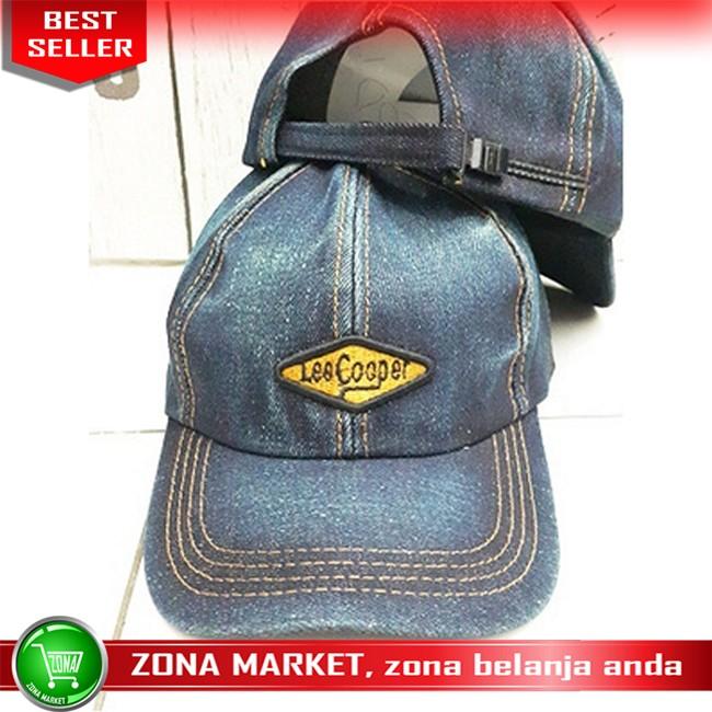harga Topi Distro Topi Lee Cooper Jeans Biru C249 Tokopedia.com