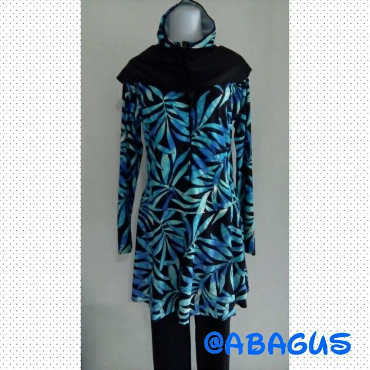harga Baju Renang Muslimah Jumbo Motif 02 Tokopedia.com