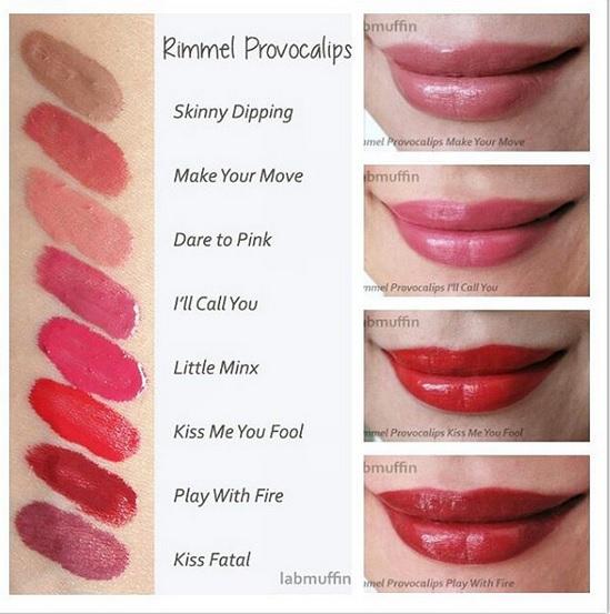 Jual Rimmel London Provocalips 16Hr Kissproof Lip Colour -5954