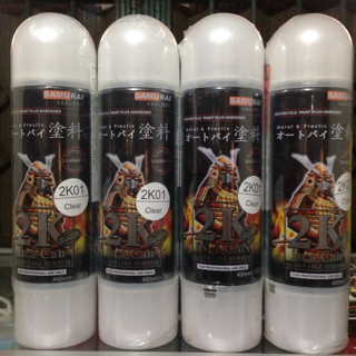 Harga Samurai paint/Clear 2K-vernis highgloss sebening kaca-cat semprot