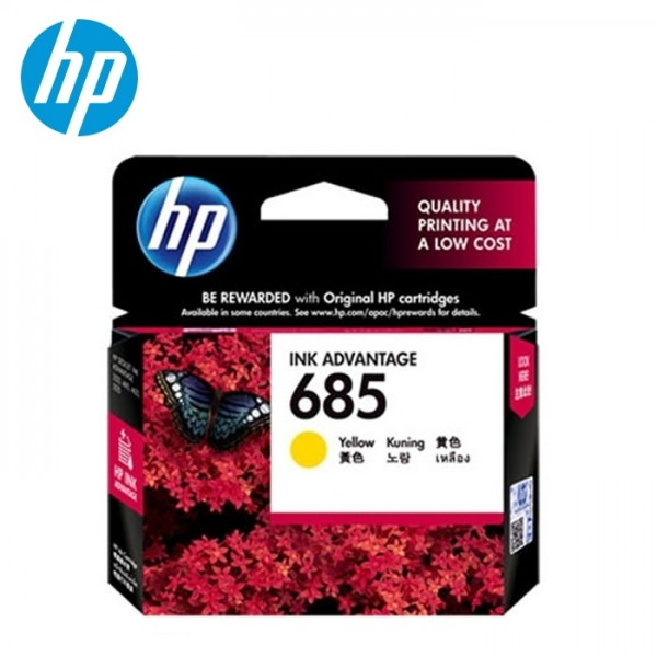 harga HP 685 Yellow Ink Cartridge (CZ124AA) Tokopedia.com