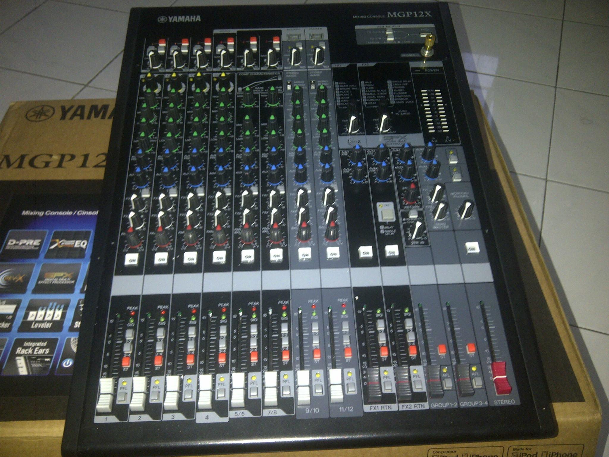 harga MIXER YAMAHA MGP12X Tokopedia.com