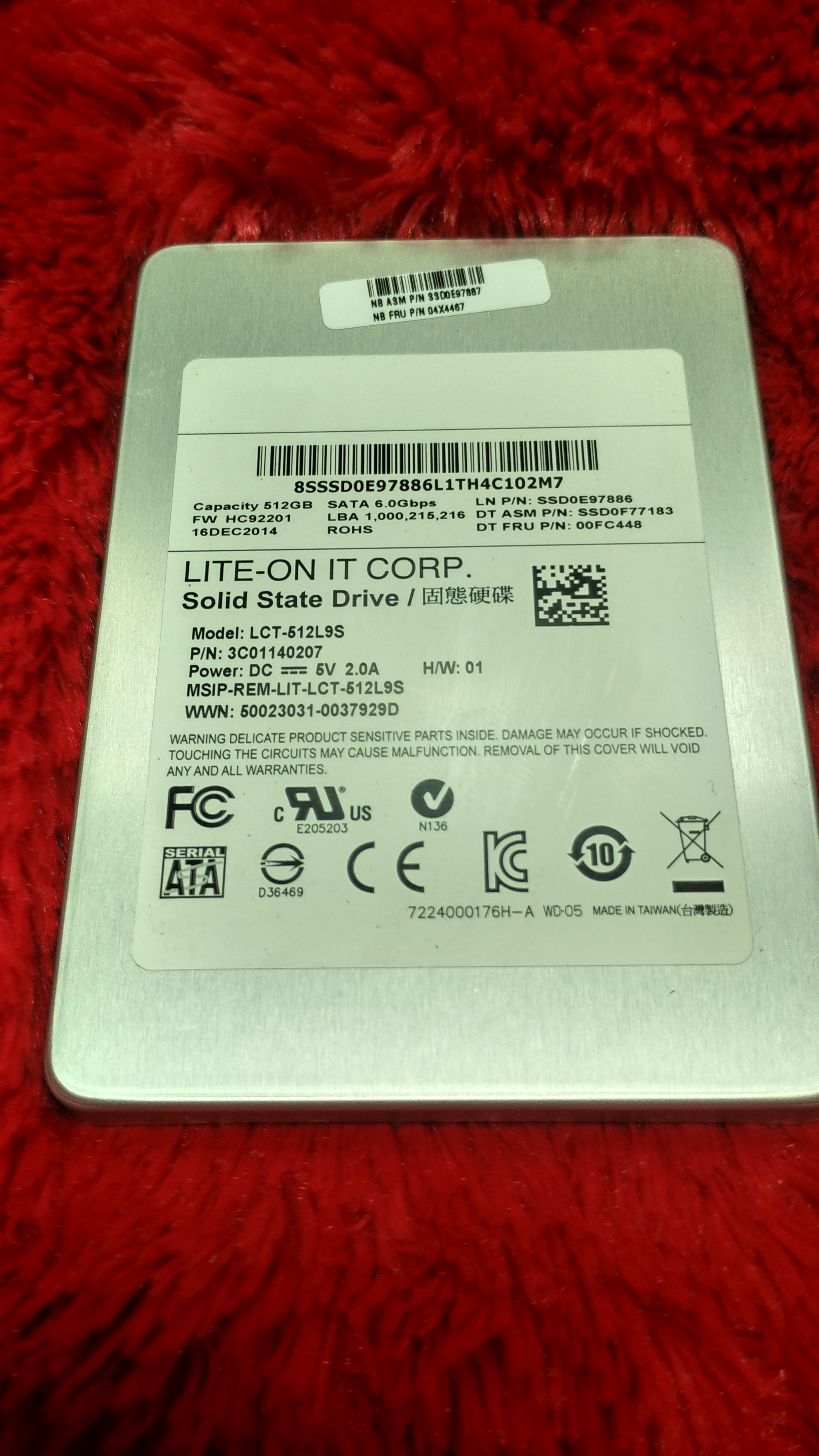 SSD 512GB Lite - On