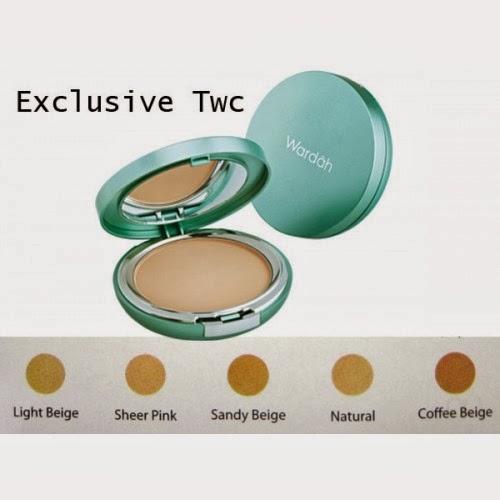 bandingkan harga wardah refill exclusive twc 01 light beige bulan source best two way