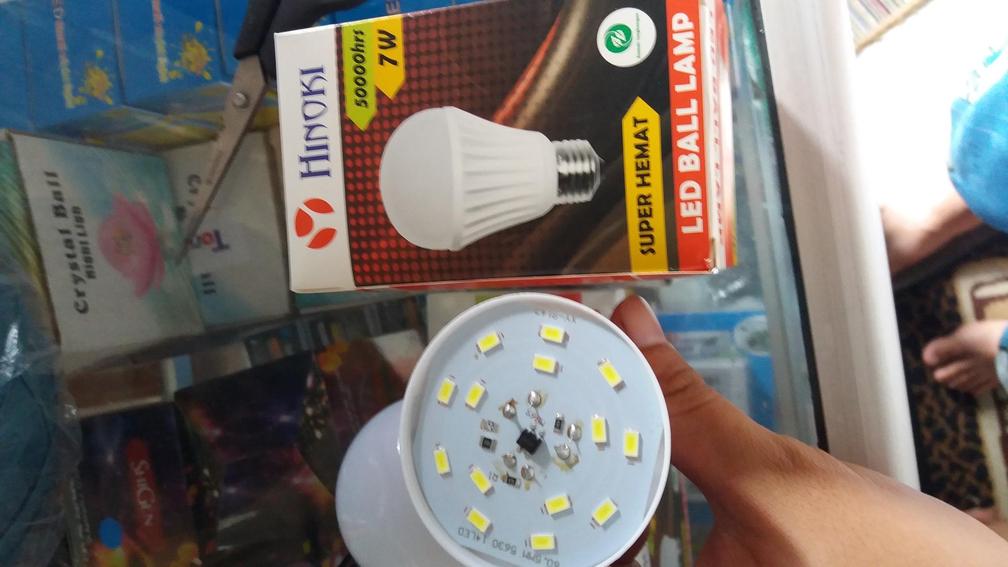 Cek Harga Led Bohlam Lampu 18 Watt 6 Pcs Hinomaru Hemat Energi Source · 224472 1321adc9