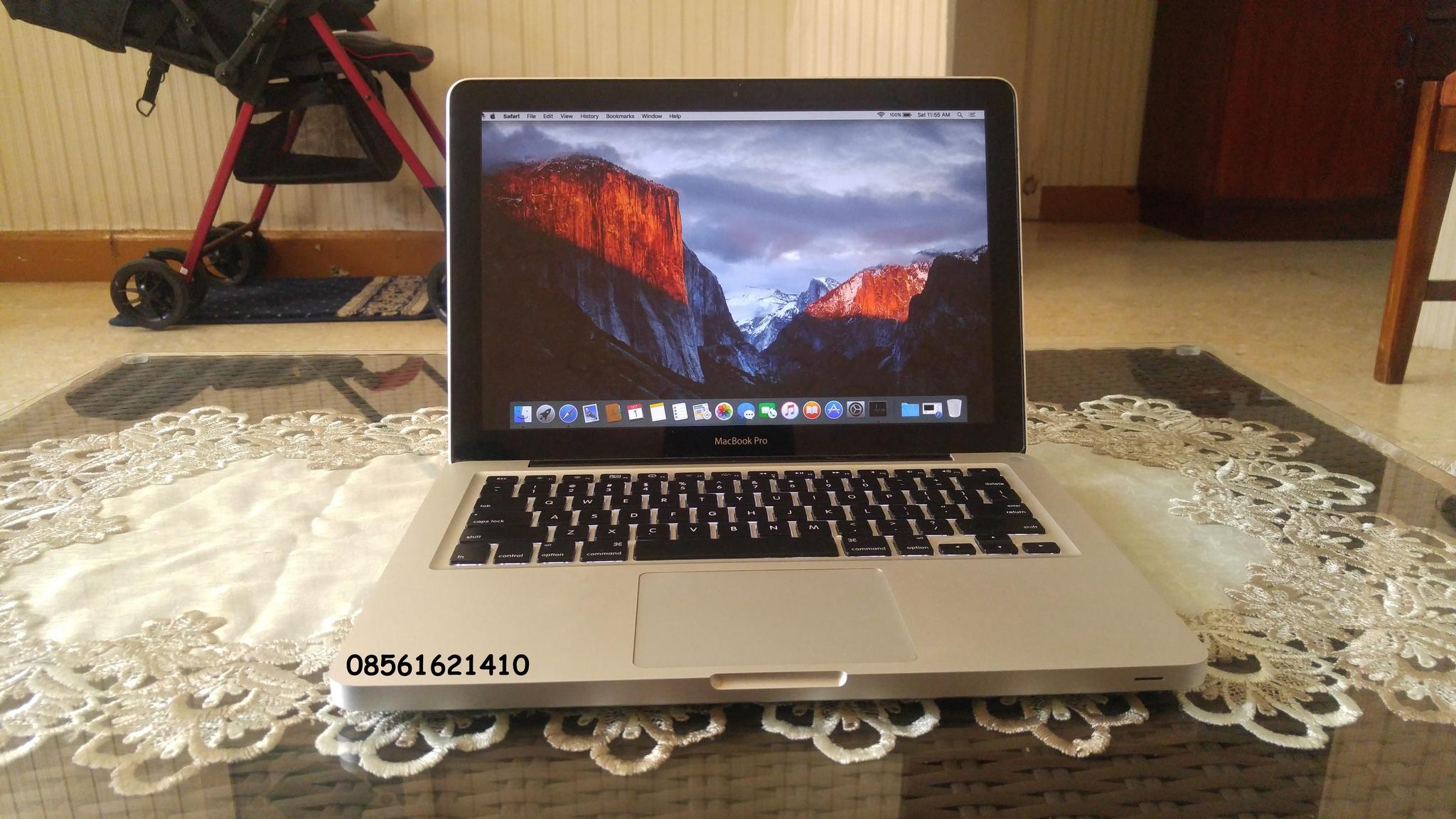 Jual Macbook Pro Mc374 Core2duo Mid 2010 Nvdia Gt320m