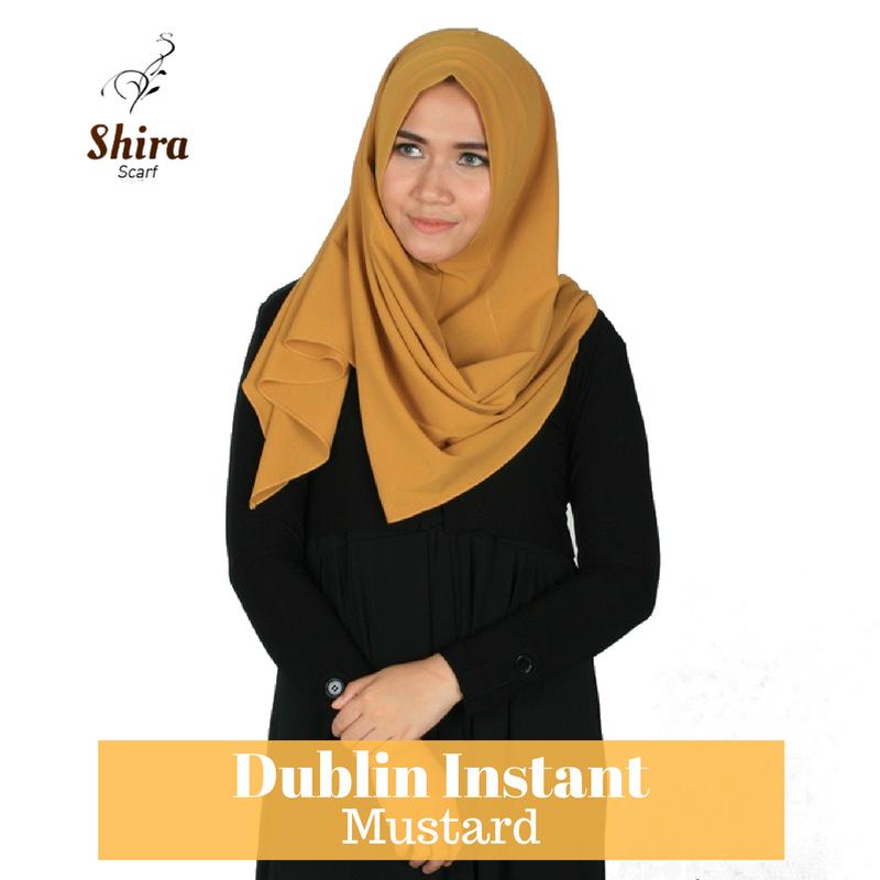 Warna Jilbab Kuning Mustard Reihanhijab