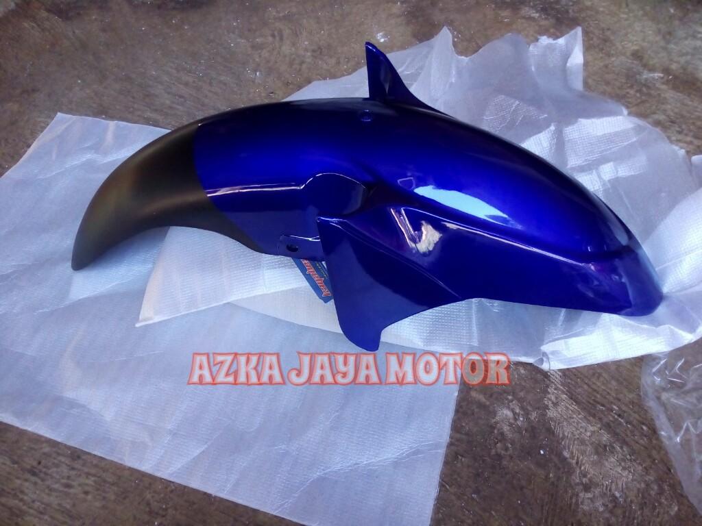 Jual Spakbor Depan Yamaha Jupiter Mx Lama Biru Azka Jaya Motor Tokopedia