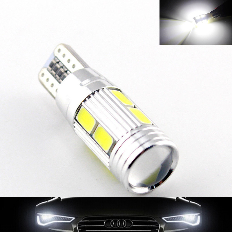 Lampu Fog Light Mobil LED T10 SMD 5630 2PCS - Whit- A323