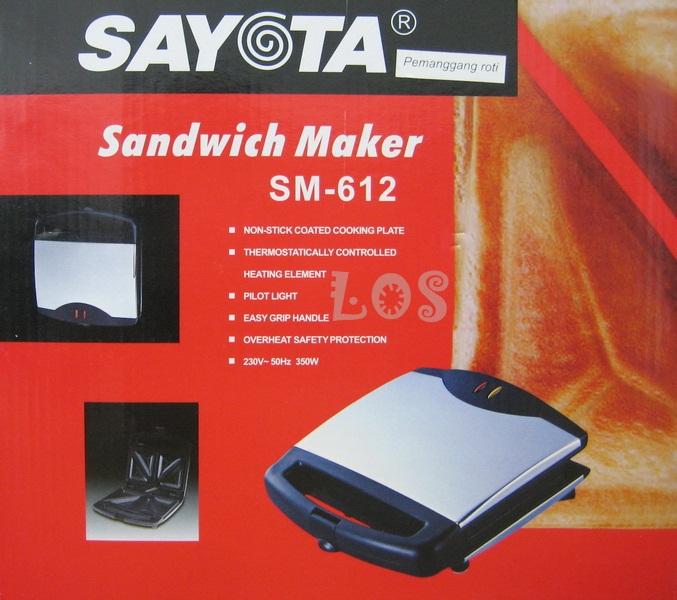 Sayota Sandwich Maker SM-612 (SKU:00168.00002)