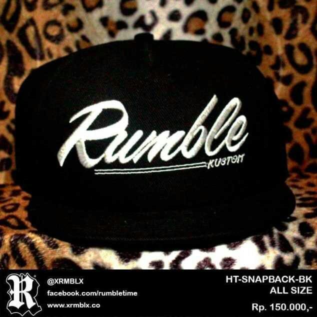 harga Topi snapback original rumble bali Snapback BK Tokopedia.com