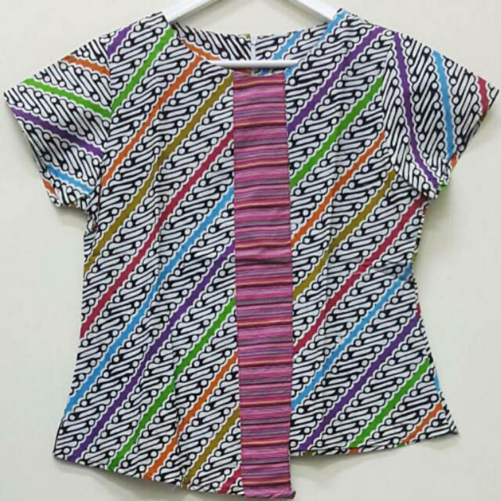 Download Desain Baju Batik Lurik Wanita   Desaprojek