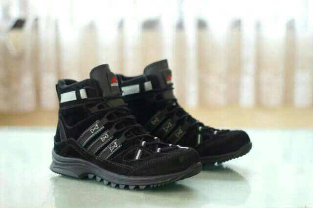 sepatu boot safety adidas obitrex gurun black Murah