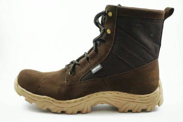 sepatu boot safety timberland rubicon brown Murah