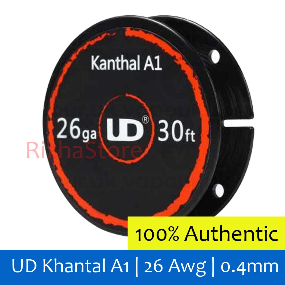 Authentic Ud Kanthal A1 Wire 26 Awg 04mm Harga Untuk 2 Feet Daftar Khantal Kawat Vapor Jual Rizhastore Tokopedia