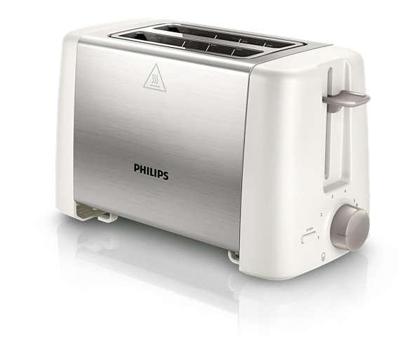Pemanggang Roti / Toaster Philips HD 4825 - Daily Collection