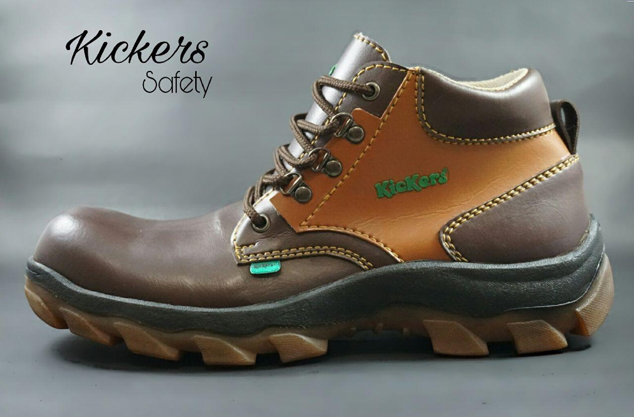 sepatu kickers safety Murah
