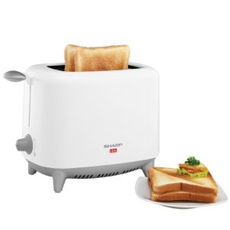 TOASTER POP-UP SHARP 2 SLICE 700 WATT KZ-90LW QUALITAS GOOD ORI (SNI)