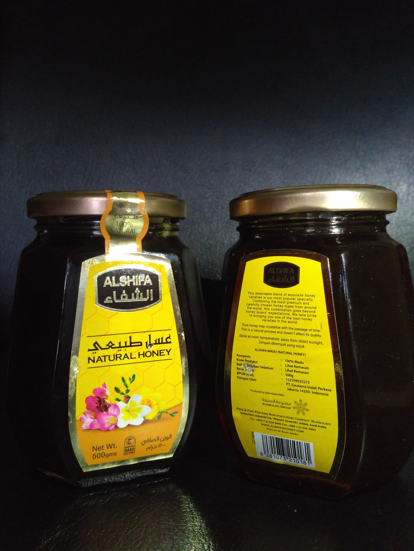Jual Madu Al Shifa 500 Ml El Bie Herbal Makassar Tokopedia 500gr Arab Original
