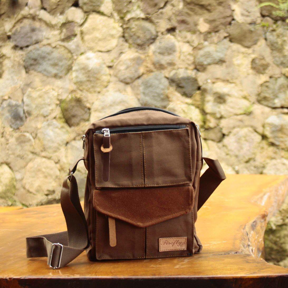 Sling bag tokopedia - Firefly Bailey Khaki Sling Bag