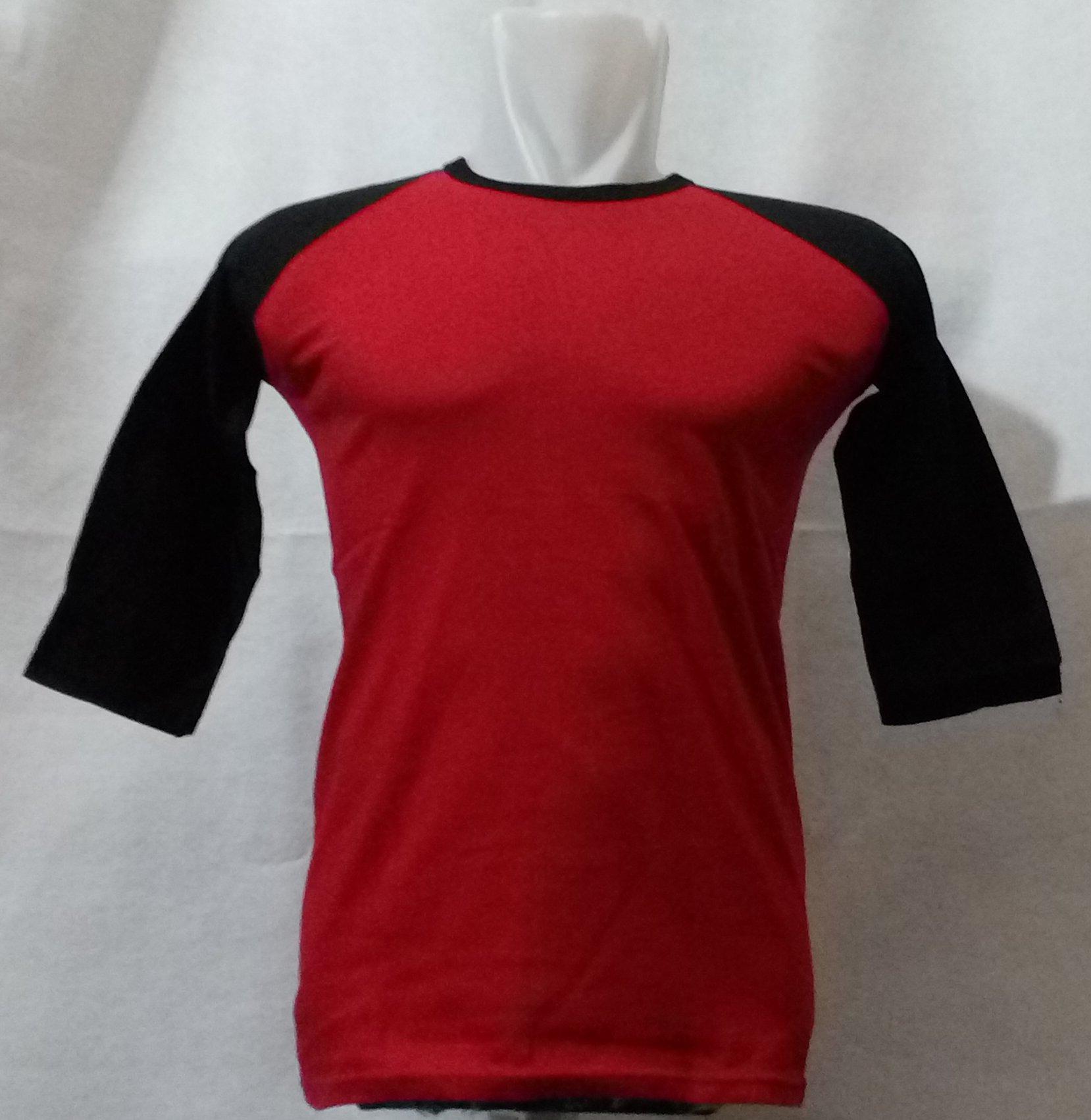 Jual Kaos Polos Raglan Warna Lengan 3 4 Cotton Combed 20s Ukuran M Size Wahyushop1945 Tokopedia