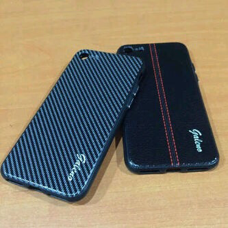 Softcase Leather Galeno Carbon Iphone