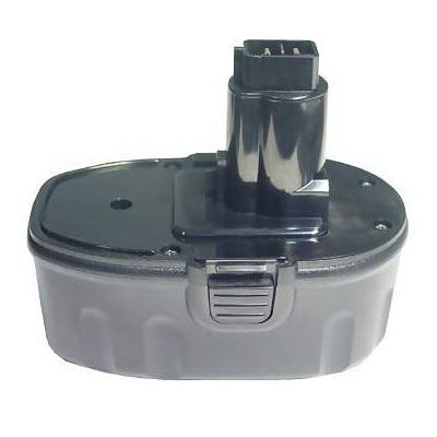 Power Tools Baterai For Dewalt DC020 DC608B DW960 DW989 - Black