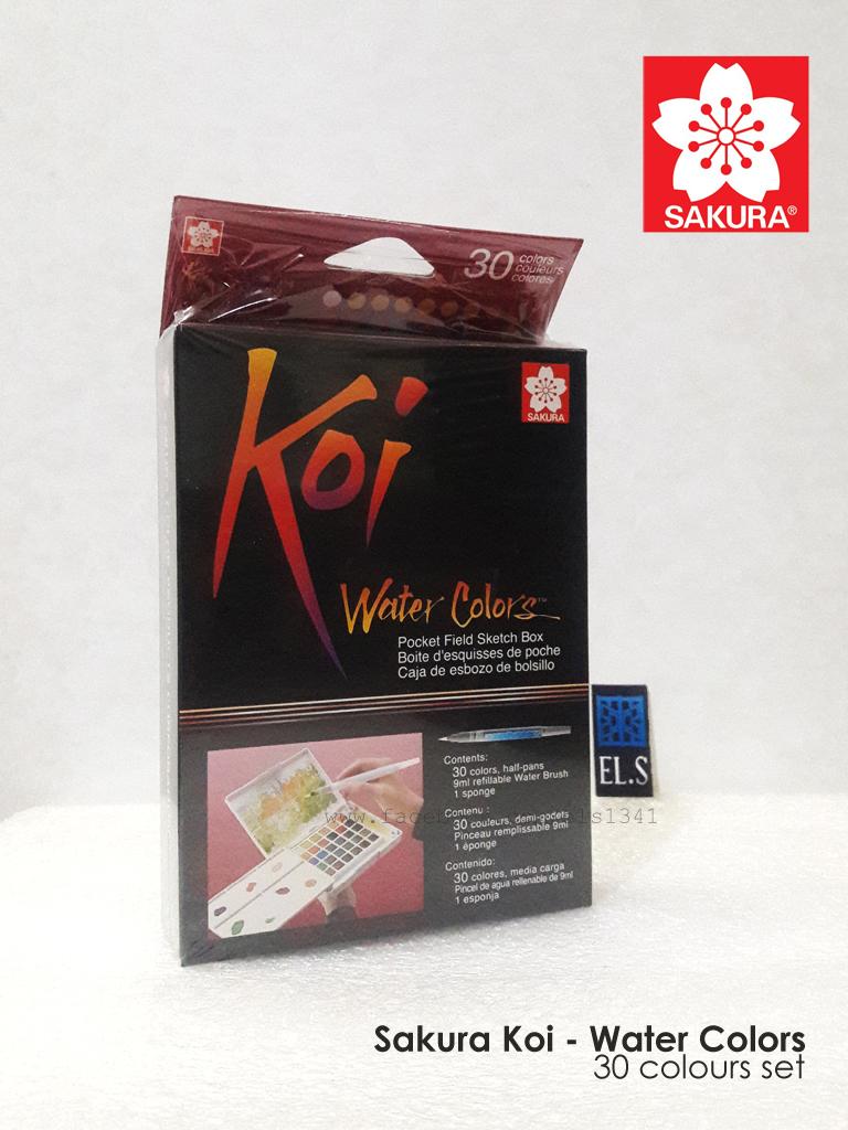 Sakura Koi Water Color Pocket Set 30