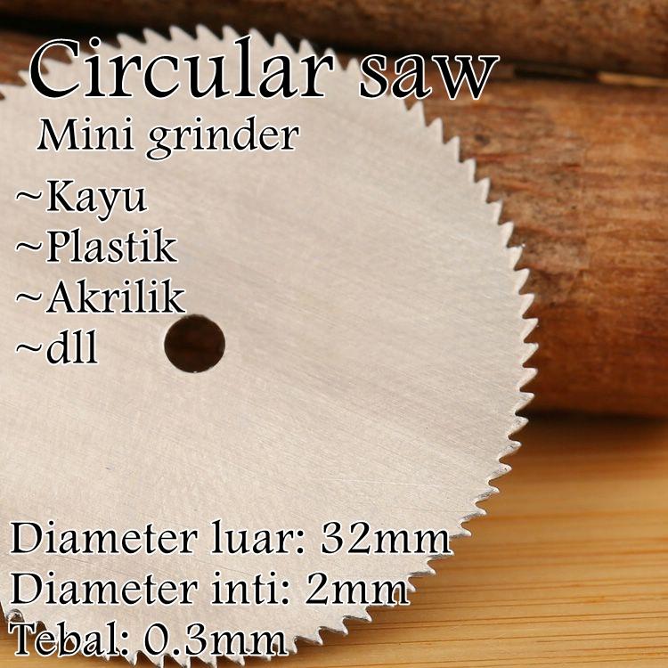 Jual Mata Gergaji Mini Grinder Woodworking Diy Circular